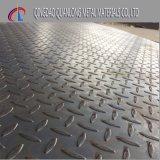 Plaque en acier d'étage Checkered de carbone de Q235 Ss400 A36 S235jr