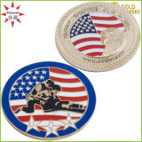 Abitudine 3D Metal Military Challenge Coins