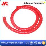 Rote Qualitäts-Plastikschlauch-Schutz/Schlauch-Schoner hergestellt in China