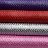 Relevo artificiais sintéticas PU Faux Saco de couro para a decoração da Sapata