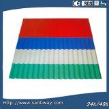 Azulejo de azotea de la onda del metal con alta calidad