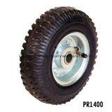 최신 판매 2.50-4 내부 관을%s 가진 압축 공기를 넣은 고무 외바퀴 손수레 바퀴 타이어