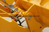 3 toneladas Shove o carregador da roda com vários acessórios braçadeira rápida de Coulping e de registro