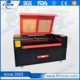 Três cabeças de corte e de gravura máquina a laser de CO2