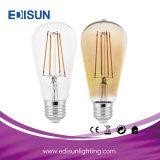 에너지 절약 Bulbs St64 6W Retro LED Filament Light