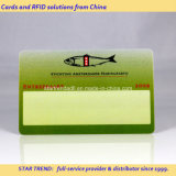 Tarjeta de plástico de PVC/Card/Fabricante de la tarjeta de banda magnética