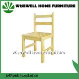 Cadeira para crianças em madeira de madeira de pinho