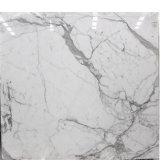 Marmor Italien-Calacatta, Calacatta weißer, weißer Marmorfußboden-Marmorierungentwurf