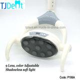 歯科9つのLED Shadowless LCDの表示操作ライトランプ(P106A)