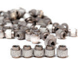 Flacher Spring+ Gummibeschichtung-Tiefbau-Diamant-Draht