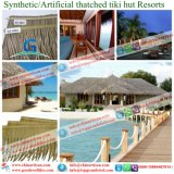 Роскошная вилла тропическая/плитки крыши Thatch типа острова синтетические