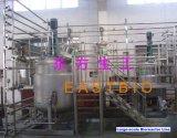 Línea en grande del biorreactor de la planta