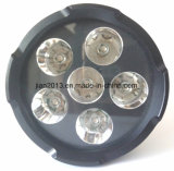 6X6w Pilha Recarregável técnica 395nm Lanterna de Mão LED UV para Caça Âmbar