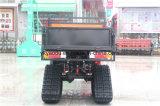 Auto exploração agrícola ATV de 4 cursos com capacidade de carregamento grande do pneu de borracha da neve