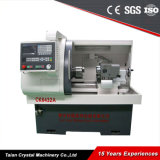 Preço pequeno Ck6432 da máquina do torno do CNC do metal de alta velocidade