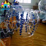 膨脹可能なおもちゃTPU PVC人体の泡球のフットボールの気が狂った球のバンパーの球