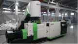 Reciclagem de plástico de alta capacidade e máquina de Pelotização de plástico de Espuma