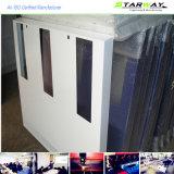 Коробка изготовления металлического листа вырезывания лазера белого порошка Coated