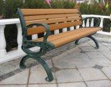 庭のベンチの端の屋外の家具はダイカストの処理を