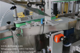 Etichettatrice dell'autoadesivo dei contrassegni della bottiglia rotonda 3 con la piattaforma girevole dell'accumulazione