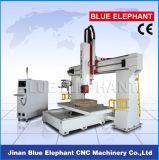 Ranurador 1224, máquina de talla de madera del CNC del eje de la alta calidad 5 del CNC de 5 ejes para el moldeado de madera