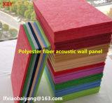 Panneau de plafond de panneau de mur de panneau de décoration de panneau de particules de polyester d'écran antibruit