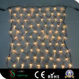 Weihnachtsim freien Dekoration Warmwhite LED Nettolicht
