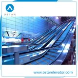 Escalera móvil de interior costada con la anchura 800m m del paso de progresión de la velocidad 0.5m/S