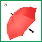 Специализированные дюймов фабрики выдвиженческие популярные 23 рекламируя прямой зонтик 10K с печатание логоса