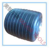 Rotella nera del carrello di golf; Rotella materiale della gomma piuma di poliuretano