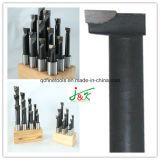 1 карбид стойки хвостовика 7PCS/Set деревянный наклоненный оправки для расточки