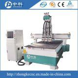 기계 또는 목제 조각 기계를 만드는 압축 공기를 넣은 3개의 헤드 Atc 모형 나무 CNC 대패 기계 또는 캐비넷 문