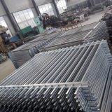 Clôtures en aluminium pour l'Amérique Marché/Palissade/plat/Boucle haut Clôture Clôture