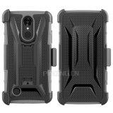 LG K10 2017/K20를 위한 벨트 클립 권총휴대 주머니 전화 상자 플러스