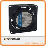 Schattierter Pole axialer Kühlventilator der Geschwindigkeit-80X80X25mm Wechselstrom