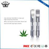 G3-h de Dubbele Elektronische Sigaret Op hoge temperatuur Vape van de Tank van de Verstuiver van het Glas van de Weerstand van de Rol 0.5ml