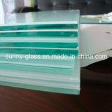 건물 유리를 위한 6.38-12.76mm 안전 박판으로 만들어진 유리