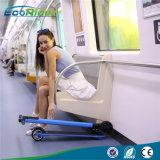 Le $$etAPP contrôlent le scooter se pliant de fibre de carbone avec du matériau le plus léger du monde