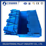 600x400x315mm alimentos cajas de mudanza de plástico para automóviles y maquinaria