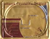 enrugamento puro do líquido de limpeza do Pore do colagénio do ouro 24k máscara facial do anti para o salão de beleza da beleza