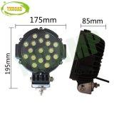 지프를 위한 노란 51W 7inch 옥외 램프 LED 모는 빛