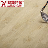 Superficie de seda de madera de 12 mm (U-Groove) Laminate Flooring (AS8129)