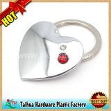 Metallo speciale Keychain (TH-mkc076) di figura del cuore