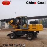 Driver di mucchio statico rotativo dell'escavatore idraulico della costruzione