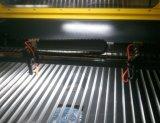 Doppie incisione del laser di CNC della testa e tagliatrice