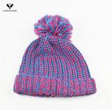 Chapéu de Thinsulate de malha de inverno da senhora de moda