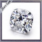 반지를 위한 합성 다이아몬드를 자르는 Whosesale 중국 Moissanite 방석 얼음