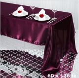 結婚式の装飾の自然なファブリックリネンテーブル掛けのための長方形のテーブルクロス