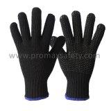 Chaîne de coton noir Gants tricotés