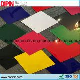 Doppio colore dell'ABS che incide l'anti scheda di plastica UV dello strato esterno